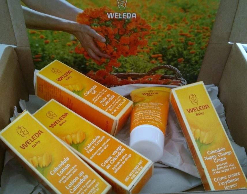 Weleda Calendula Baby Skincare: a products review