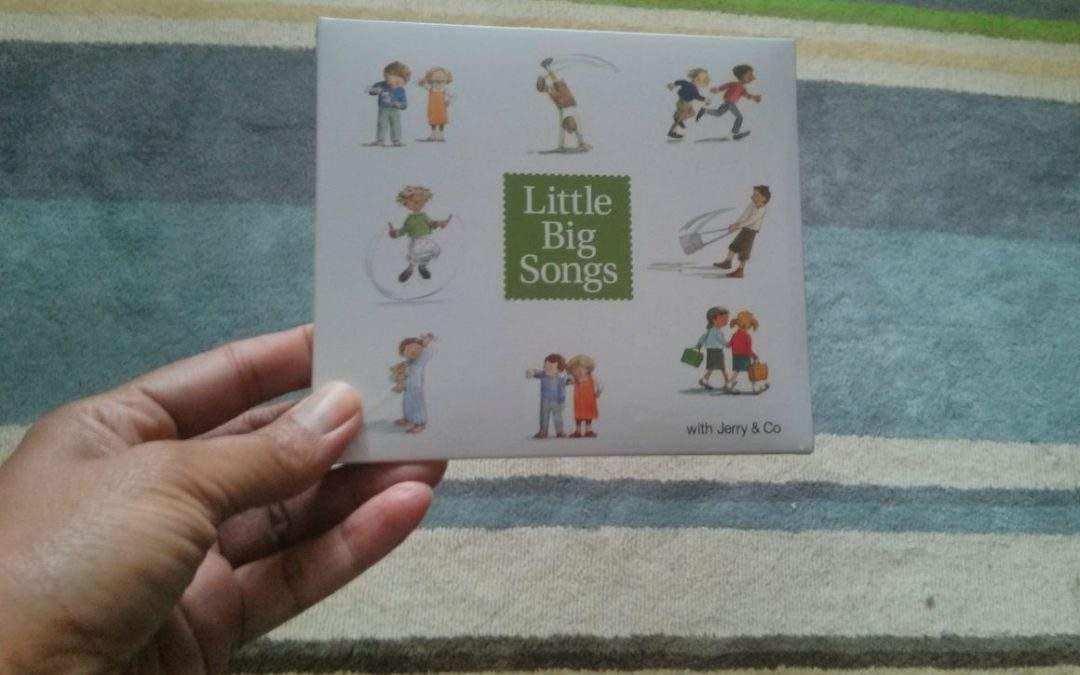 Big Little Songs:  a preschool music CD review