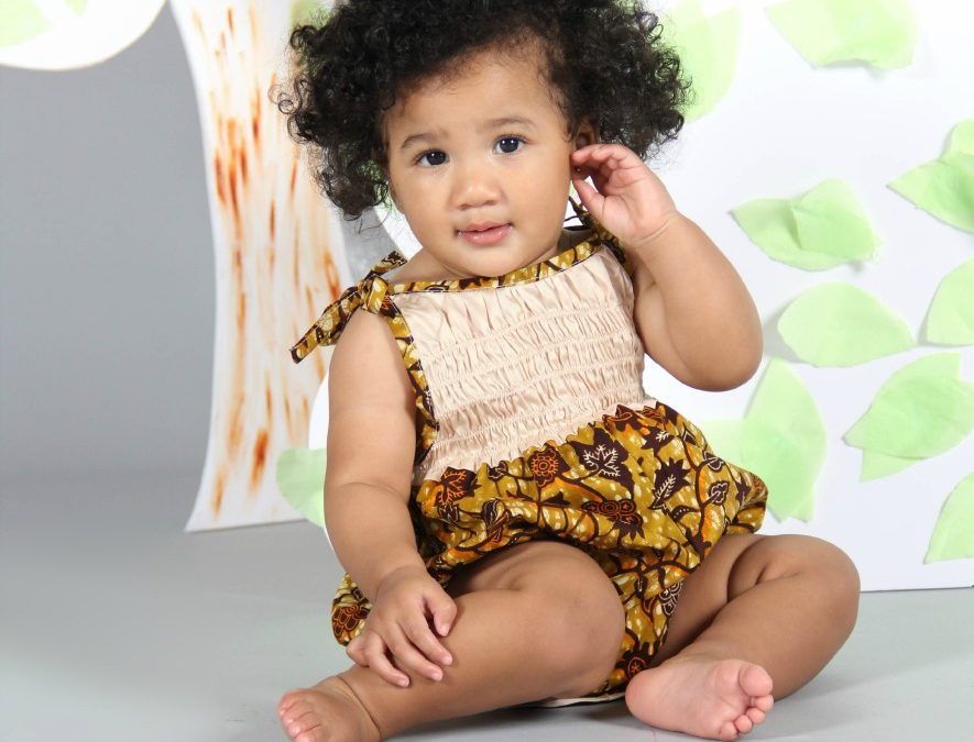 #Isossy Children competition: win a baby girl's romper suit