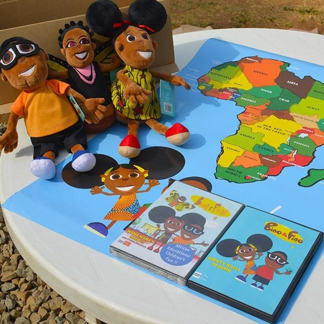 Bino & Fino African Knowledge Play Set