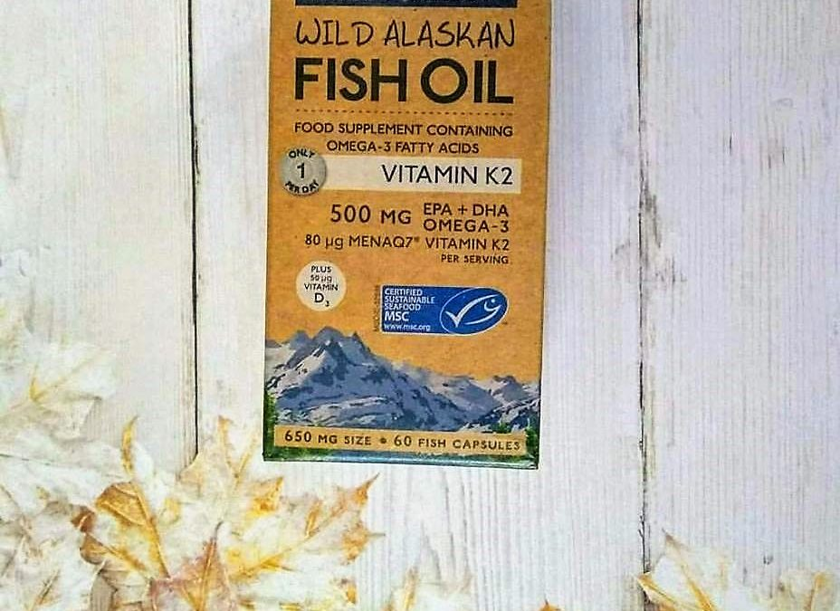 Wiley's Finest Wild Alaskan Fish Oil with K2