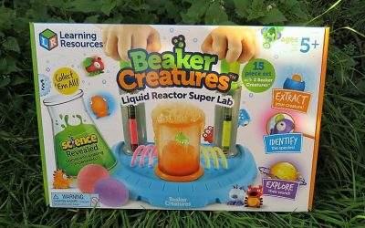 Beaker Creatures™ Liquid Reactor Super Lab: review