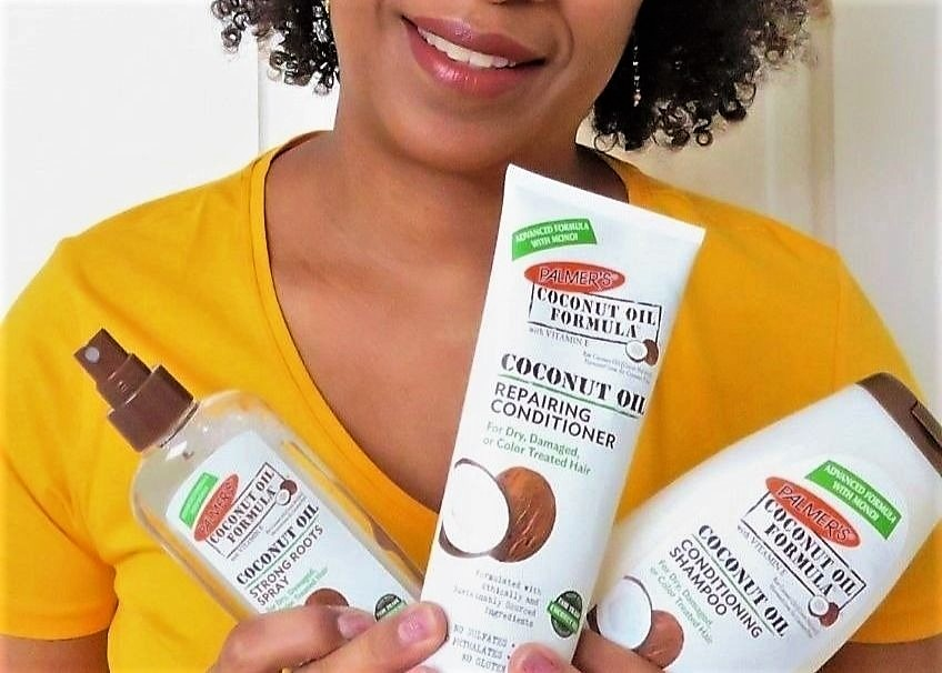 Palmer's Coconut Oil Formula Haircare: review