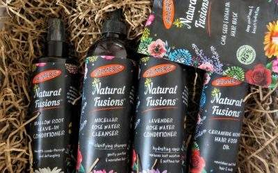 Natural Fusions Haircare Review (sponsored by Palmer's)