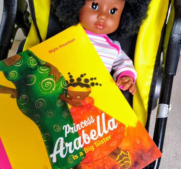 Princess Arabella is a Big Sister by Mylo Freeman: book review